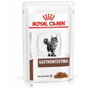 Royal Canin Sachets Repas Veterinary Diet Chat Gastro Intestinal Contenance : 12 sachets de 85 g