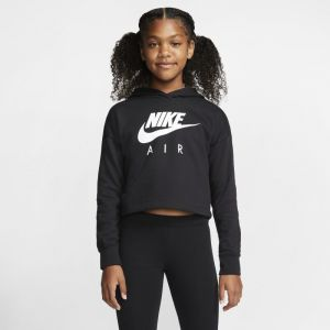 Nike Sweat shirt - Nsw air crop - Noir Fille 12ANS
