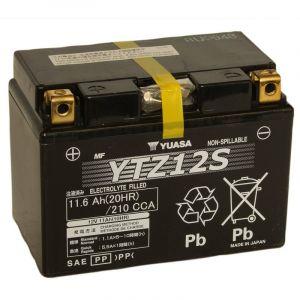 Yuasa Batterie Gel YTZ12S 12V 11Ah