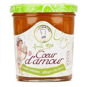 Francis Miot Confiture coeur d'amour allégée en sucre - Pot 320g
