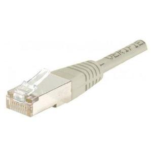 855950 - Cordon RJ45 CAT. 6 SFTP/FTP croisé 0,5m