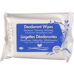 Prevens 25 lingettes déodorantes