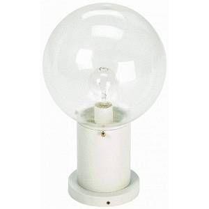 Albert Leuchten Luminaire pour socle II blanc en verre à bulles