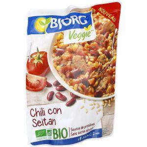 Bjorg Plat Cuisiné Bio Chili Con Seitan - Le Sachet De 220 G