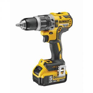 Dewalt DCD796P2 - Perceuse visseuse à percussion 13mm 18V Li-Ion 2x5Ah 70 Nm (sans charbon)