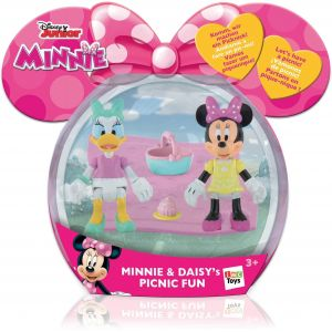 IMC Toys Pack De 2 Figurines Minnie & Daisy