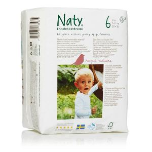 Naty Couche Naty taille 6 (+16 kg) - paquet de 18