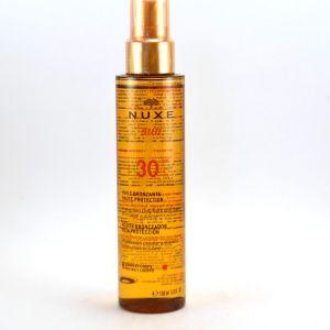 Nuxe Sun - Huile bronzante visage corps SPF 30