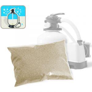 Intex Sable de quartz pour Pompe de filtration pour piscine Bestway Jilong - 25 Kg universel - PURE CLEA