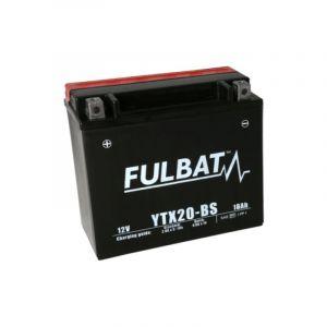 Fulbat Batterie moto YTX20-BS étanche 12V / 18Ah