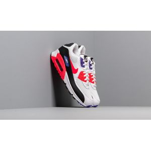 Nike Air Max 90 Essential chaussures blanc noir rouge T. 45,0