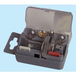Sodise 16283 - Coffret de secours 5 lampes + 2 fusibles h4 12 volts