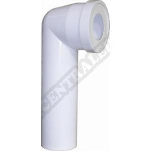 Siamp 92200007 - Pipe WC longue - coudée à 90°