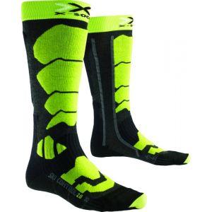 X-Socks Chaussettes Ski Control 2.0 Anthracite/vert