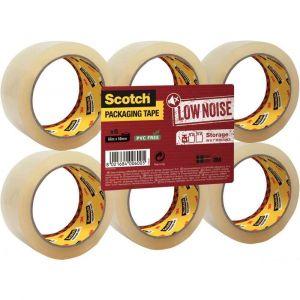 Scotch Rouleaux adhésif Polypropylène Acrylique Transparent 50mmx66m - lot de 6