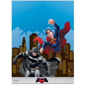 Nappe pliée Batman vs Superman (120 x 180 cm)