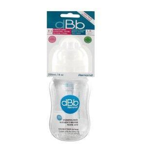 dBb Remond 129605 - Biberon L.O en polypropylène 250 ml avec tétine en silicone (0-4 mois)