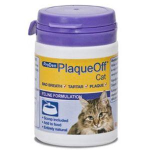 ProDen PlaqueOff soin dentaire pour chat