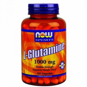 Now Foods Glutamine 1000 mg 120 Capsules