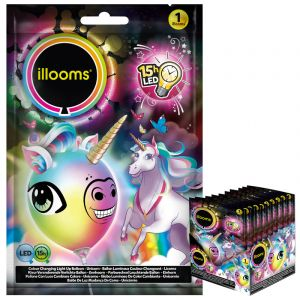 Ballon LED licorne Illooms