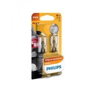 Philips 2 Ampoules W16W 16W 12 V