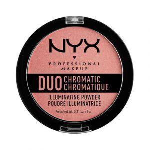 NYX Cosmetics Duo Chromatic - Poudre compacte illuminatrice