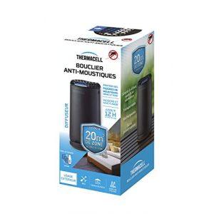 Thermacell THPATIONOIR Bouclier Anti-Moustiques-Diffuseur Noir + Recharge Incluse pour 12H de Protection