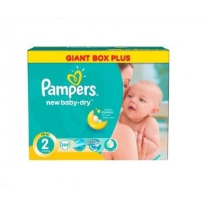 Pampers New Baby taille 2 (3-6 kg) - 144 couches