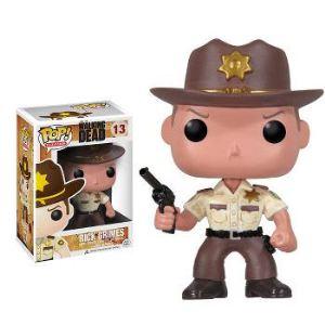 Image de Funko Figurine Pop! Walking Dead : Deputy Rick Grimes