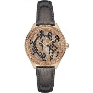 Guess W0626L - Montre pour femme avec bracelet en cuir