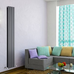 hudson reed tdrasp21 radiateur vertical design en acier. Black Bedroom Furniture Sets. Home Design Ideas