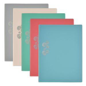 Elba 1 Protège-documents - Collection Pastel - Format A4 - 60 vues - Coloris assortis