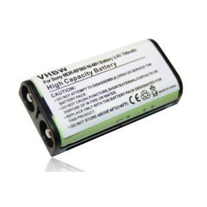 Vhbw Batterie Ni-MH 700mAh (2.4V) pour casque audio sans-fil Sony