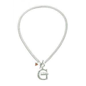 Guess Ubn10906 - Collier pour femme en métal argenté
