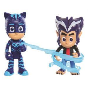 PVM Blister de 2 figurines Pyjamasques Yoyo et Howler