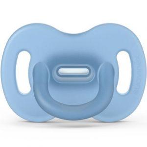 Suavinex Sucette en silicone avec tétine symétrique SX PRO Smoothie bleu (0-6 mois)