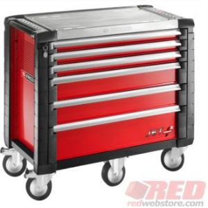 Facom JET.6M5 - Servante d'atelier mobile JET+ 6 tiroirs
