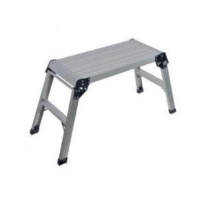 Silverline 640000 - Escabeau plateforme Capacité 150 kg