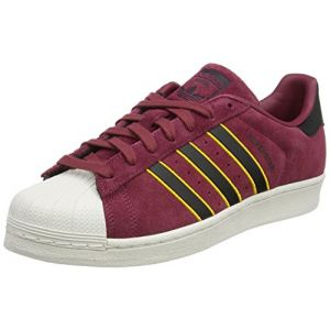 Adidas Superstar Homme, Rouge (Red/Core Black/Yellow Adiprene 0), 43 1/3 EU