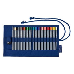Faber-Castell Crayon de couleur GoldFaber Aqua Trousse de 27 crayons