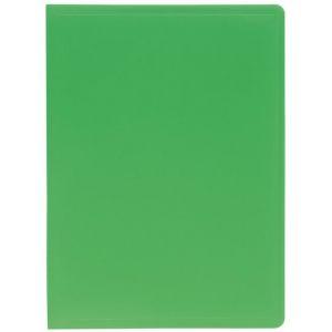 Exacompta 8523E - Protège-documents Eco A4 40 vues, polypro souple vert
