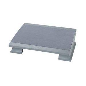 Maul 90225-85 - Repose-pieds ergonomique confort, coloris gris