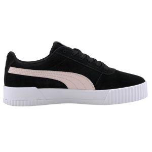 Puma Chaussure Basket Carina pour Femme, Noir/Rose, Taille 39