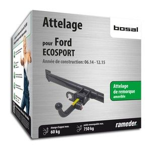 Bosal Attelage «col de cygne> démontable sans outils 040-463