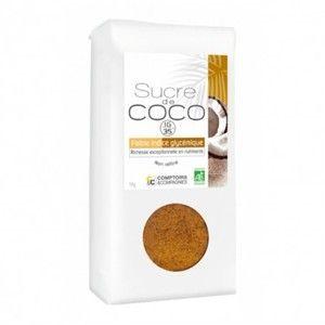 Comptoirs et Compagnies Sucre de Fleurs de noix de coco - Sachet 1 kg