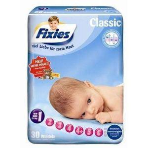 Fixies Couche bébé taille 1 Newborn (2-5 kg) - paquet de 30