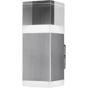 Ledvance Applique LED extérieure 9.00 W 1x LED intégrée Endura Style Cube 4058075474130 acier 1 pc(s)