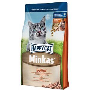 Happy cat Minkas Poulet - Croquettes pour chat adulte - 10 kg