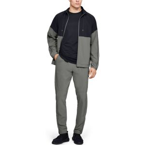 Under Armour Pantalon Athlete Recovery Woven Vert - Taille L