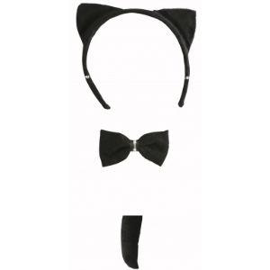 Set chat noir adulte